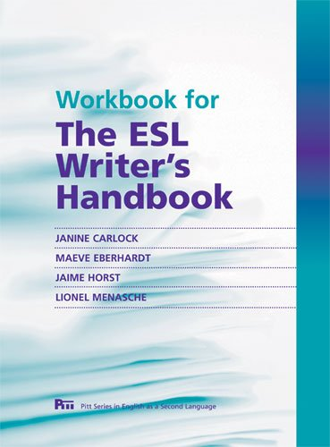 Workbook for the ESL Writer's Handbook  N/A edition cover