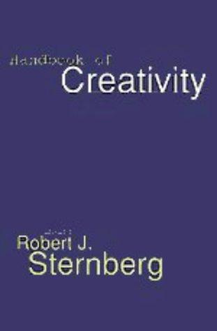 Handbook of Creativity   1999 edition cover