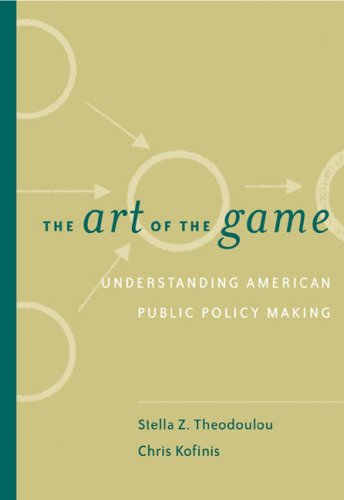 Art of the Game Understanding Public Policy (with InfoTracr)  2004 edition cover