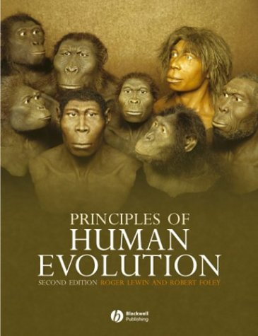 Principles of Human Evolution  2nd 2003 (Revised) edition cover