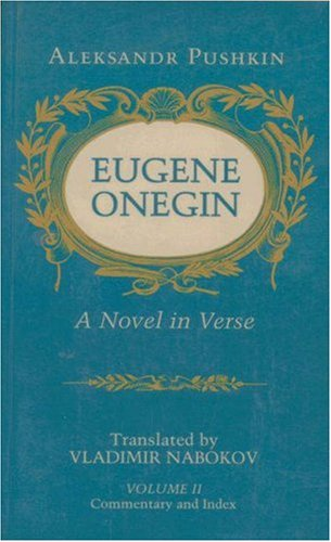 Eugene Onegin A Novel in Verse  1991 (Reprint) edition cover
