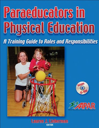 Paraeducators in Physical Education A Training Guide to Roles and Responsibilities  2007 edition cover