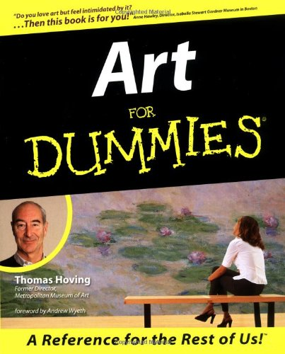 Art for Dummies   1999 9780764551048 Front Cover