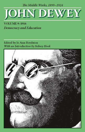 Middle Works of John Dewey, Volume 9, 1899-1924 Democracy and Education 1916 N/A edition cover