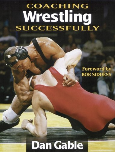 Coaching Wrestling Successfully   1998 edition cover