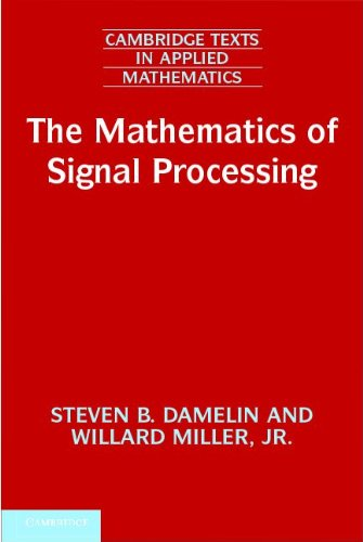 Mathematics of Signal Processing   2011 edition cover
