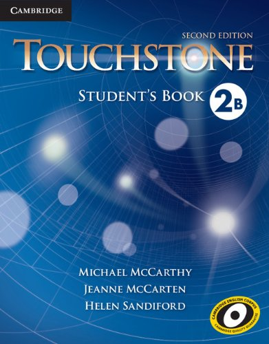 Touchstone Level 2 Student's Book B  2nd 2013 (Revised) 9781107627048 Front Cover