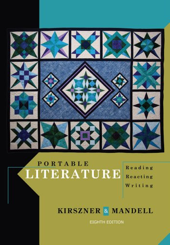 Portable Literature Reading, Reacting, Writing 8th 2013 edition cover