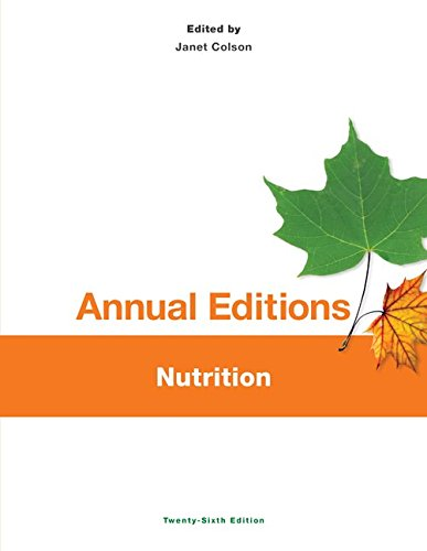 Annual Editions: Nutrition  2014 edition cover