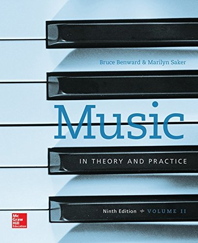 Music In Theory and Practice 9th 2015 9781259676048 Front Cover