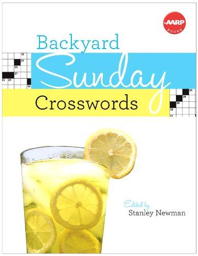 Backyard Sunday Crosswords (AARP)   2002 9781402775048 Front Cover