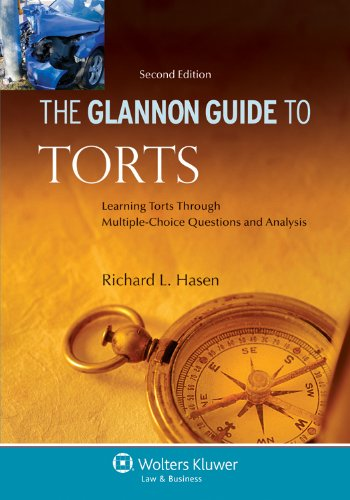 Glannon Guide to Torts Learning Torts Through Multiple-Choice Questions and Analysis 2nd 2011 (Student Manual, Study Guide, etc.) edition cover