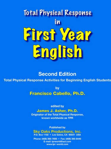 Tpr in First Year English   2002 9781560185048 Front Cover