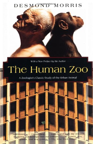 Human Zoo A Zoologist's Study of the Urban Animal  1996 edition cover
