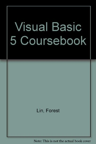 Visual Basic 5 Coursebook N/A 9781576760048 Front Cover