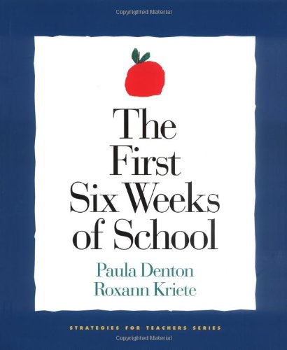 First Six Weeks of School   2000 edition cover