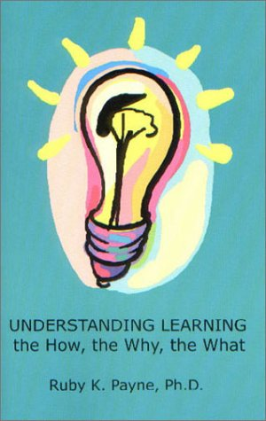 Understanding Learning The How, the Why, the What  2001 edition cover