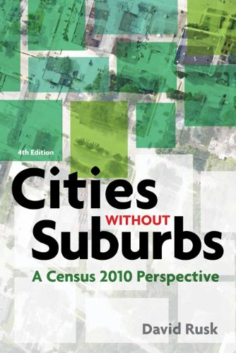 Cities Without Suburbs A Census 2010 Perspective 4th 2013 edition cover