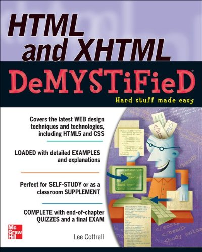 HTML and XHTML   2011 edition cover