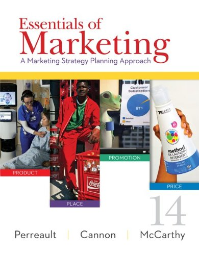 Essentials of Marketing A Marketing Strategy Planning Approach 14th 2015 edition cover