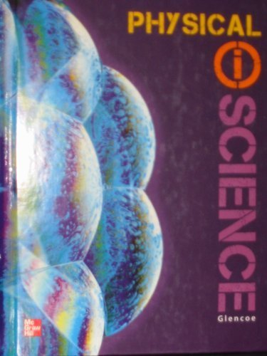 Glencoe Physical IScience, Grade 8, Student Edition   2012 9780078880049 Front Cover