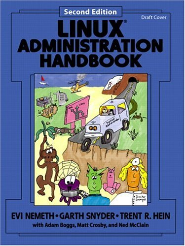 Linux Administration Handbook  2nd 2007 (Revised) edition cover