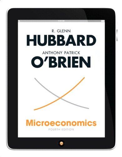 Microeconomics  4th 2013 edition cover