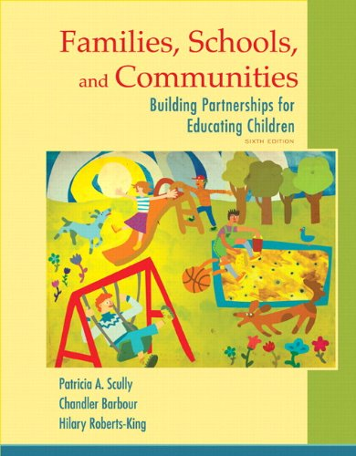 Families, Schools, and Communities Building Partnerships for Educating Children 6th 2015 edition cover