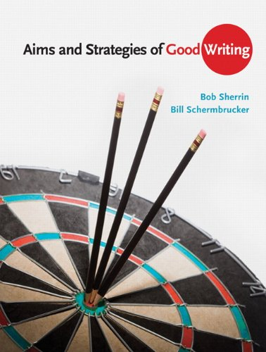 Aims and Startegies of Good Writing   2011 edition cover