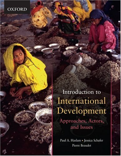 Introduction to International Development Approaches, Actors, and Issues  2009 edition cover