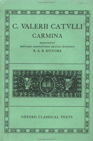 Catvlli Carmina  N/A edition cover