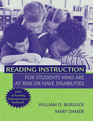 Reading Instruction for Students Who Are at Risk or Have Disabilities   2007 edition cover