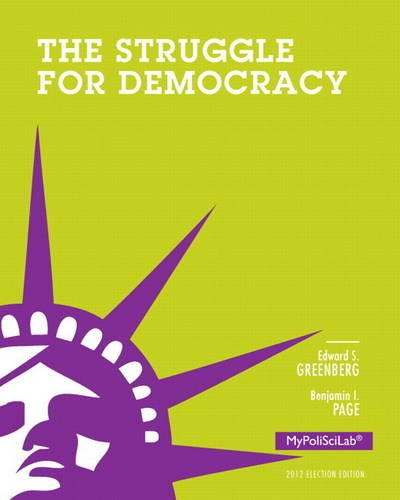 Struggle for Democracy  11th 2014 9780205909049 Front Cover