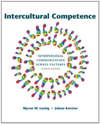 Intercultural Competence Interpersonal Communication Across Cultures 7th 2013 edition cover