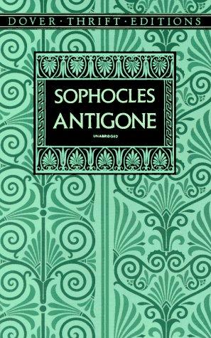 Antigone   1993 (Reprint) edition cover