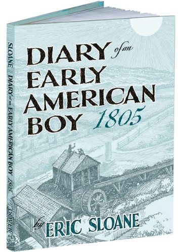 Diary of an Early American Boy 1805   2008 edition cover