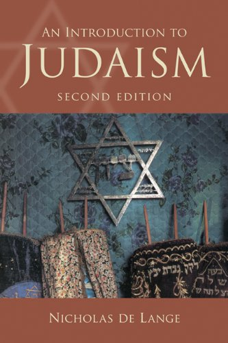 Introduction to Judaism  2nd 2009 edition cover