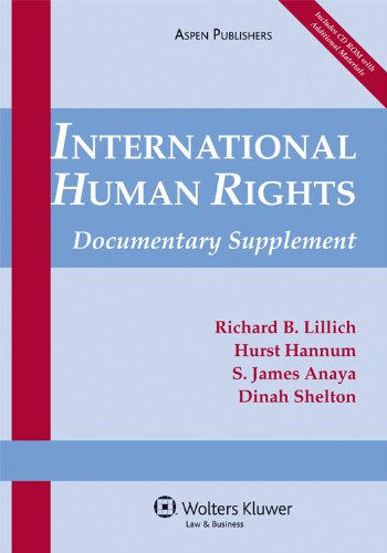 International Human Rights Documentary Supplement 2009 N/A edition cover
