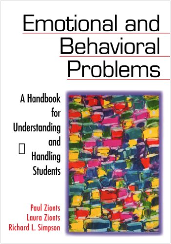 Emotional and Behavioral Problems A Handbook for Understanding and Handling Students  2002 9780761977049 Front Cover