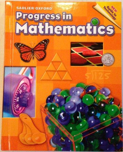 Progress in Mathematics Grade 4 Student Textbook 1st edition cover