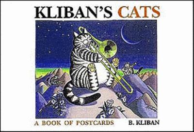 Kliban's Cats Book of Postcards N/A 9780876549049 Front Cover