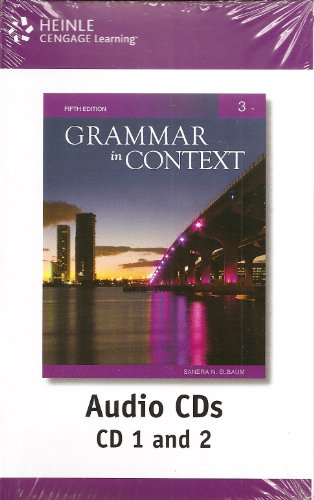 Grammar in Context  5th 2011 edition cover