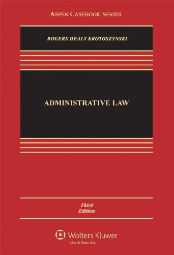 Administrative Law  3rd 2012 (Revised) edition cover