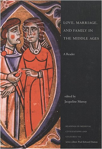 Love, Marriage, and Family in the Middle Ages   2001 edition cover