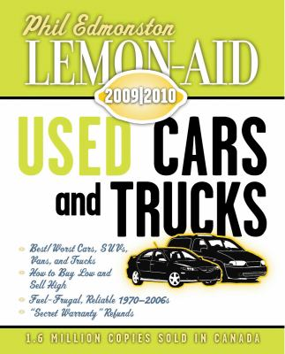 Lemon-Aid Used Cars and Trucks 2009-2010   2014 9781554884049 Front Cover