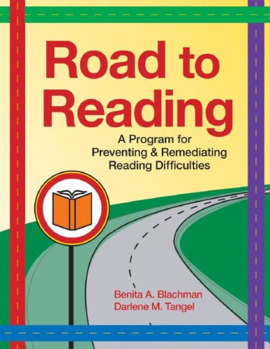Road to Reading A Program for Preventing and Remediating Reading Difficulties  2008 edition cover