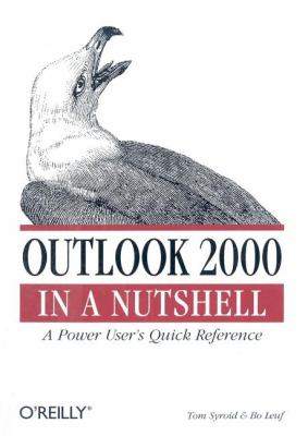 Outlook 2000 A Power User's Quick Reference  2000 9781565927049 Front Cover