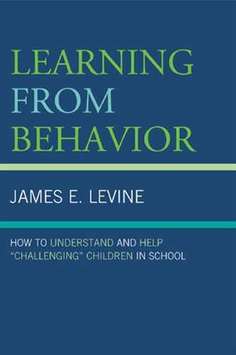 Learning from Behavior How to Understand and Help Challenging Children in School  2009 edition cover