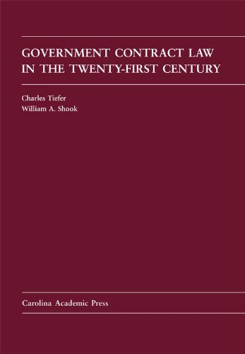 Government Contract Law in the Twenty-First Century  N/A edition cover