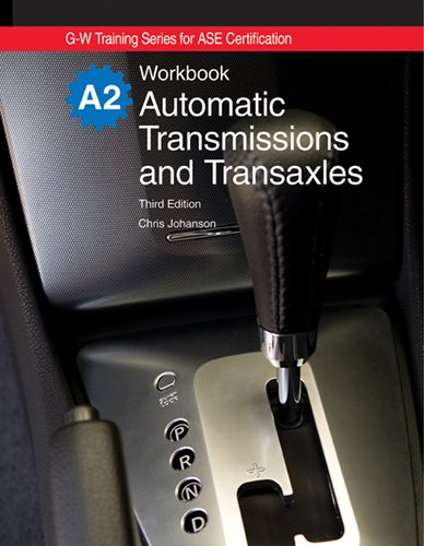 Automatic Transmissions and Transaxles, A2  3rd 2010 edition cover